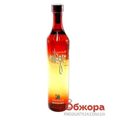 Текила Милагро (Milagro) Репосадо 0,75 л – ИМ «Обжора»
