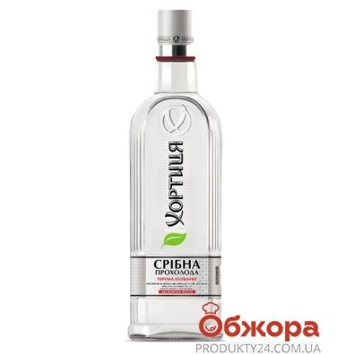 Горілка Хортиця 1,0л 40% Срібна прохолода штоф – ІМ «Обжора»