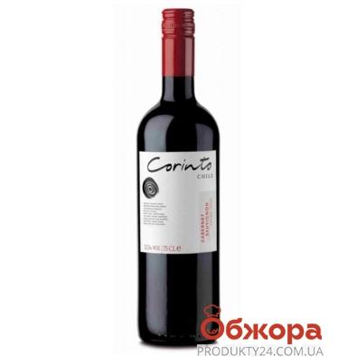 Вино Коринто (Corinto) Вариеталь Каберне Совиньон красное сухое 0,75 л – ИМ «Обжора»