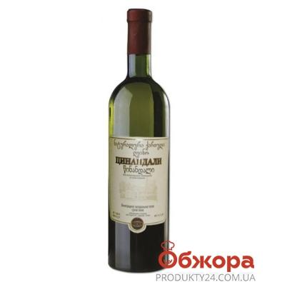 """Вино грузинское Заря Кахети """"Цинандали"""" 0,75 л. – ИМ «Обжора»"""