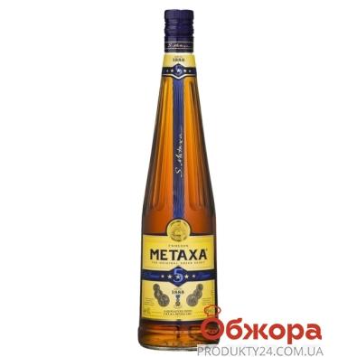 Коньяк Метакса (Metaxa) 5 * 0,5 л. – ИМ «Обжора»