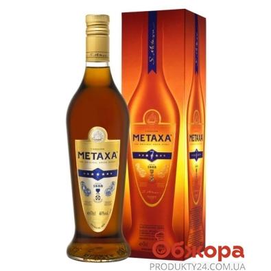 Коньяк Метакса (Metaxa) 7* 0,7л. – ИМ «Обжора»