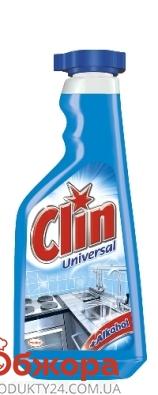 Жидкость Клин (CLIN) д/стекол Универсал (запаска) 500 мл – ИМ «Обжора»