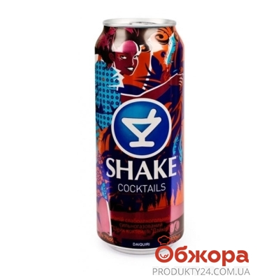 Напиток Шейк (Shake) Дайкири 7% 0,5 л – ИМ «Обжора»