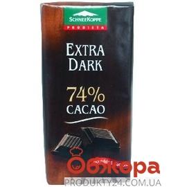 Шоколад  Шникоп (Schneekoppe) диетический экстра черный 74% 100г – ИМ «Обжора»