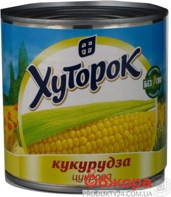 Кукуруза Хуторок 350г ж/б конс. – ИМ «Обжора»