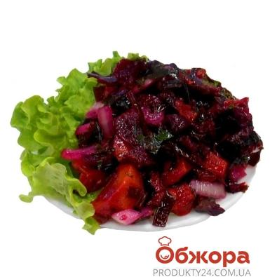 Салат из овощей с морской капустой – ИМ «Обжора»
