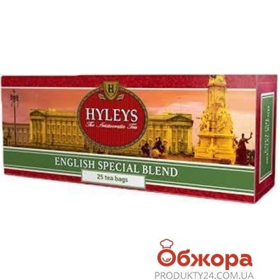 Чай Хейлис (Hyleys) Английский Королевский Купаж 25*2 г – ИМ «Обжора»
