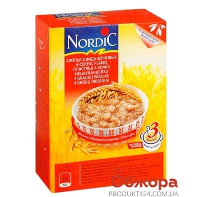 Нордик хлопья из 4-х зерновых 600 гр. – ИМ «Обжора»