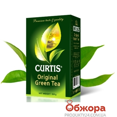 Чай Кертис (Curtis) Зеленый оригинал 100 г – ИМ «Обжора»