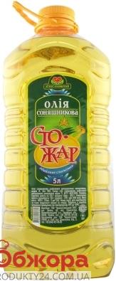 Подсолнечное масло Стожар рафинированное 5 л – ИМ «Обжора»
