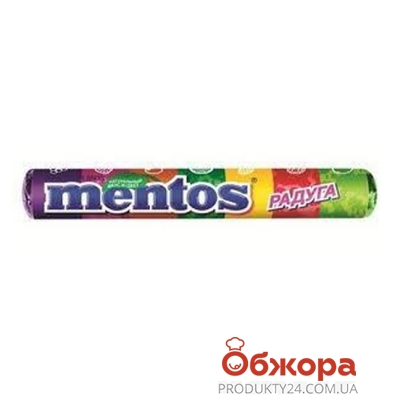 Конфеты Ментос (Mentos) Радуга 38г – ИМ «Обжора»