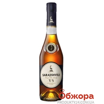 Коньяк Сараджишвили (Sarajishvili) V.S. 0,5л – ИМ «Обжора»