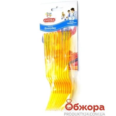 Вилки Эвента (EVENTA) пластиковые 10 шт – ИМ «Обжора»