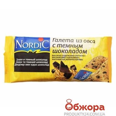 Галета Нордік 30г з вівса з шоколадом ІМП – ІМ «Обжора»