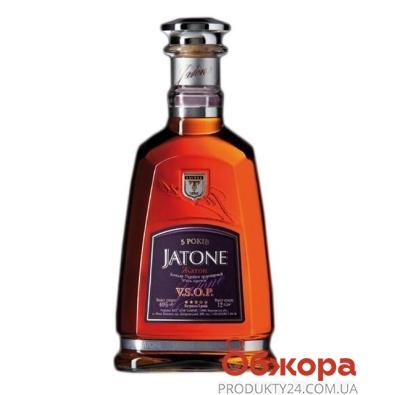 Коньяк Жатон (Jatone)  V.S.O.P. 5 лет Таврия 0.5л – ИМ «Обжора»