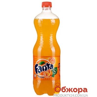 Вода Фанта апельсин 1.0 л. – ИМ «Обжора»