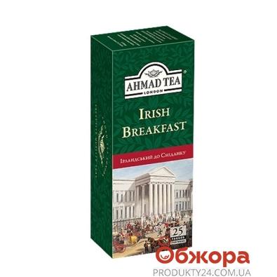 Чай Ахмад (Ahmad) Ирландский завтрак 25 пакетиков с ниткой – ИМ «Обжора»