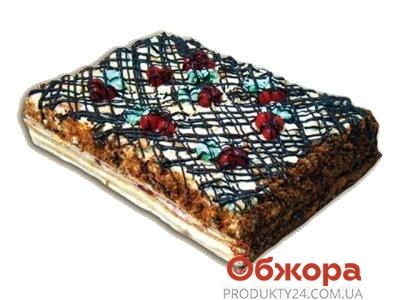 Торт Медовый с вишнями ВЕСОВ. – ИМ «Обжора»