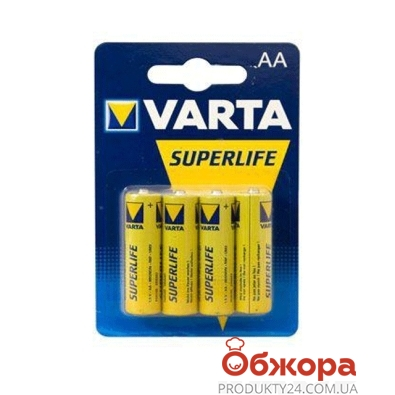 Батарейки VARTA Superlife LR 06 AA – ИМ «Обжора»
