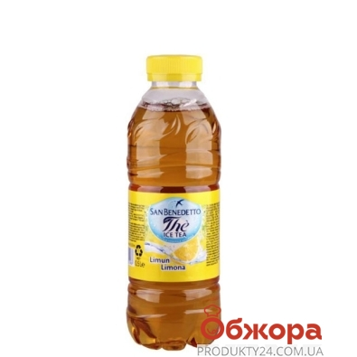 Холодный Чай Сан-Бенедетто (San Benedetto) 0.5 л. лимон – ИМ «Обжора»