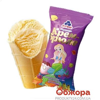 Мороженое Рудь Стакан крем-брюле 70 г – ИМ «Обжора»