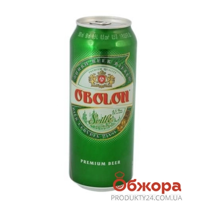 Пиво Оболонь светлое 0,5 л – ИМ «Обжора»