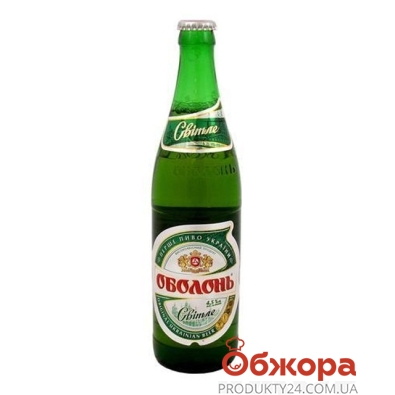 Пиво Оболонь 0,5л світле – ІМ «Обжора»