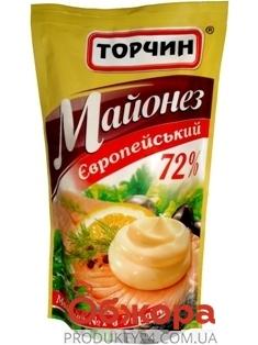 Майонез Торчин 200г Европейский – ИМ «Обжора»