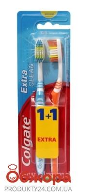 Зубная щетка Колгейт (Colgate) Extra Clean 1+1 – ИМ «Обжора»
