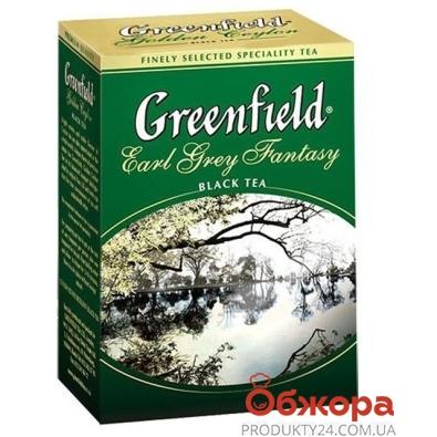 Чай Гринфилд (Greenfield) Эрл грей фентази 100 г – ИМ «Обжора»