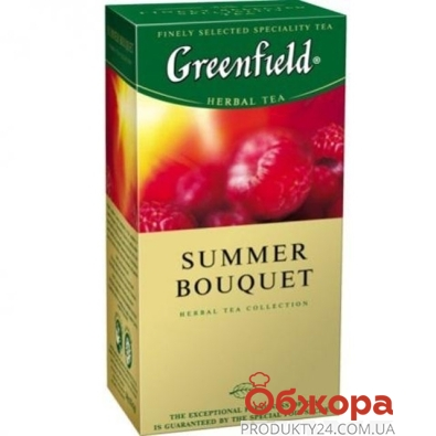 Чай Гринфилд (Greenfield) Самма букет 25 п – ИМ «Обжора»