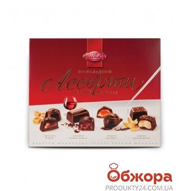Конфеты АВК Ассорти черный шоколад 200 г – ИМ «Обжора»