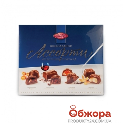 Конфеты АВК Ассорти молочный шоколад 200 г – ИМ «Обжора»