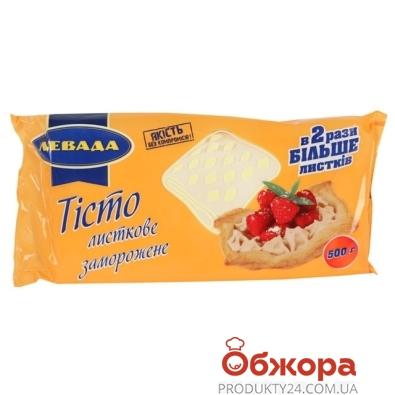 Тесто Левада Слоеное Тили Тесто 500 г – ИМ «Обжора»