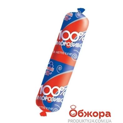 Мороженое Рудь 100%  500 г – ИМ «Обжора»
