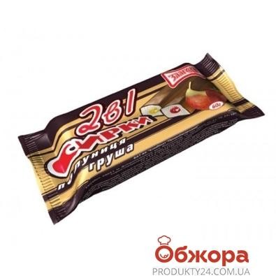 Сырки Злагода 2 в 1 клубника-груша 15% 40 г – ИМ «Обжора»