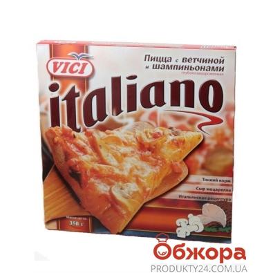 Пицца замороженная Вичи (Vici) Italiano ветчина/шампиньоны 350 г – ИМ «Обжора»