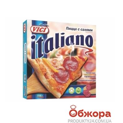 Пицца замороженная Вичи (Vici) Italiano  с салями 350 г – ИМ «Обжора»