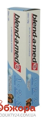 Зубная паста Бленд а мед (BLEND-A-MED) Чистота + свежесть 100 мл. отбеливание – ИМ «Обжора»