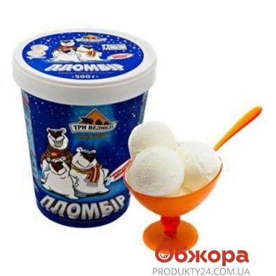 Мороженое Три Медведя Пломбир 500 гр. – ИМ «Обжора»