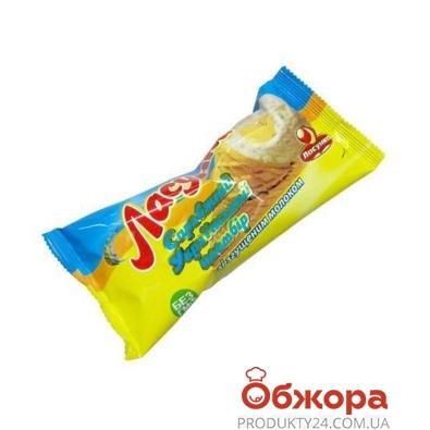Мороженое Ласунка Рожок со сгущенным молоком 70г – ИМ «Обжора»