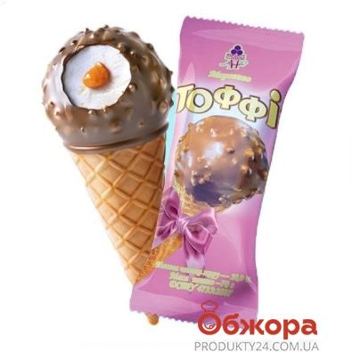 Мороженое Рудь Рожок Тоффи 70г – ИМ «Обжора»