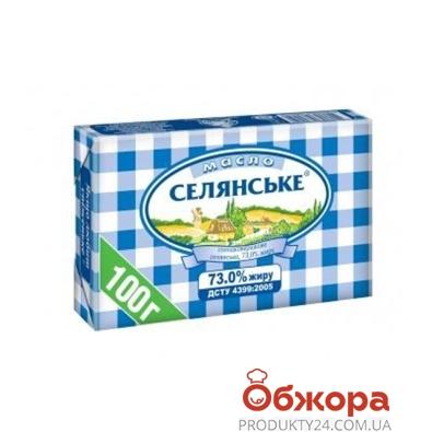Масло На Здоровье  Селянское 73% 100 г – ИМ «Обжора»