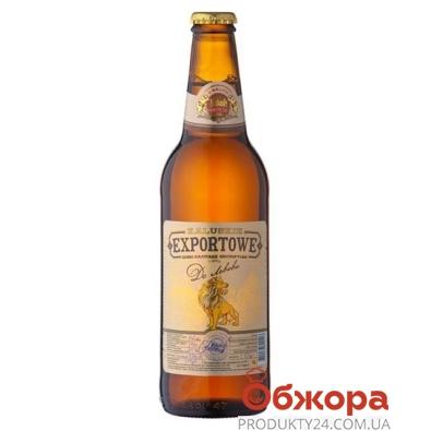 "Пиво Экспортное ""До Львова"" 0,5л – ИМ «Обжора»"