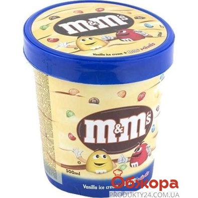 Мороженое M&Ms 345 г – ИМ «Обжора»