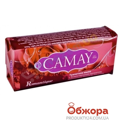 Мыло  Камей (CAMAY) Romantique 100 гр. – ИМ «Обжора»