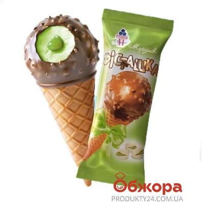 Мороженое Рудь Рожок Фисташка 70 г – ИМ «Обжора»