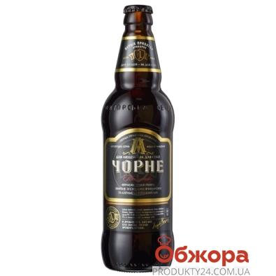 Пиво Перша Приватна Броварня (ППБ) Черное 0,5 л. – ИМ «Обжора»
