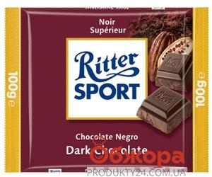 Шоколад Риттер спорт (Ritter Sport) полугорький 100 г – ИМ «Обжора»